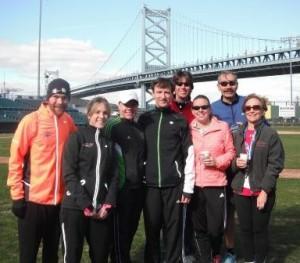 PCVRC Team at 2012 Run The Bridge 10K