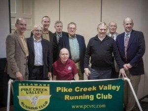 PCVRC Hall of Fame members at 2015 banquet
