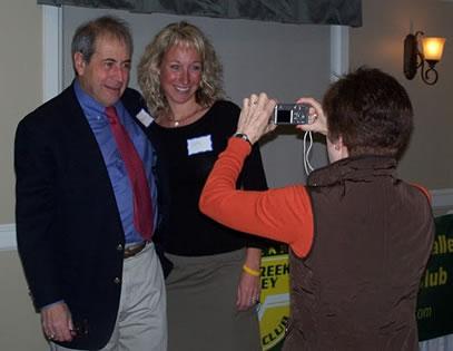 Deborah snaps photo of Rudy & Kelly at 2011 banquet