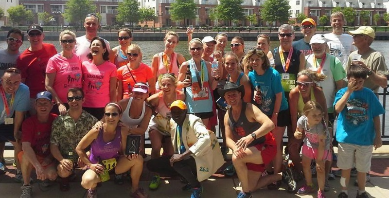PCVRC members enjoy Delaware Marathon