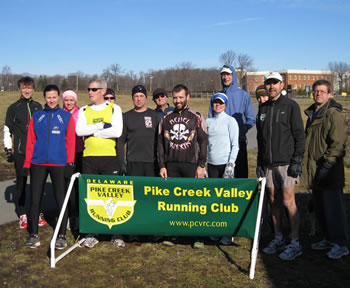Winter group run 2012
