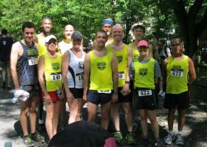 PCVRC Team at 2012 Wissahickon Trail 10K