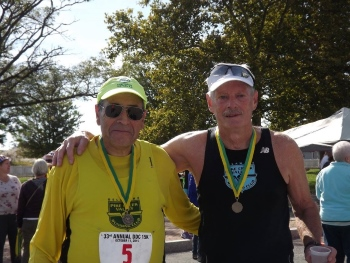 Former Club Presidents Rudy & Jerry at 2015 DDC15k