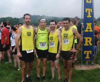 USATF team on trails