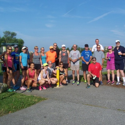 Group run in Delaware