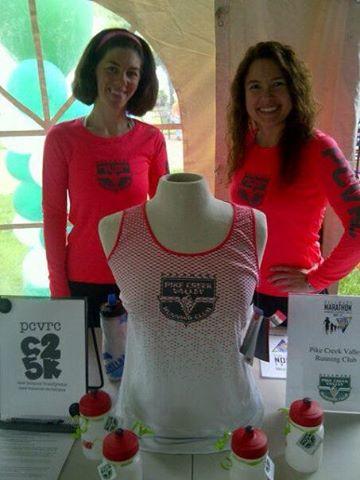 Women's Long Sleeve tech shirt + Women's Racing Singlet