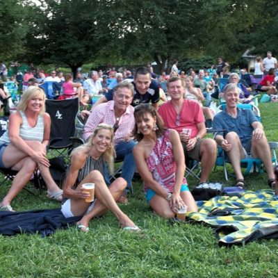 Concert at Bellevue Park