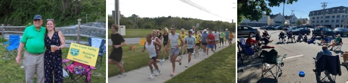 running and social events