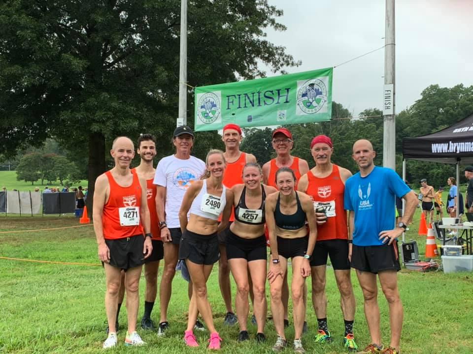 Team at Belmont Plateau